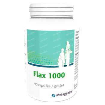 Flax 1000mg 90 capsules