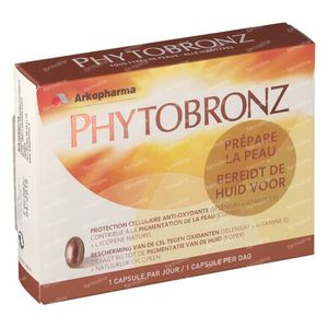 Arkopharma Phytobronz 30 stuks Capsules