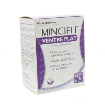 Mincifit Innovation Ventre Plat 75 capsules