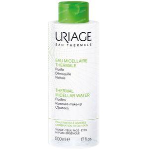 Uriage Mizellares Wasser Thermisch Fette & Gemischte Haut 500 ml