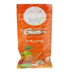 Xyli 7 Functional Gum Fresh Fruits 50  chicles