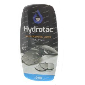 Hydrotac Stick-On Bifocal Lentille +2.00 2 stuks