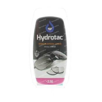 Hydrotac Stick-On Bifocal Lens +2.50 2 pièces