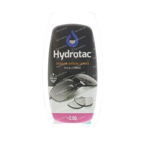 Hydrotac Stick-On Bifocal Lens +2.50 2 St