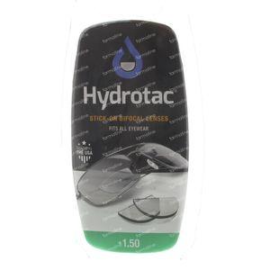 Hydrotac Stick-On Bifocal Lentille +1.50 2 stuks