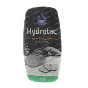 Hydrotac Stick-On Bifocal Linse +1.50 2 st