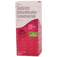 Toularynx Dextromethorphan Eucalyptus Droge Hoest 180 ml siroop