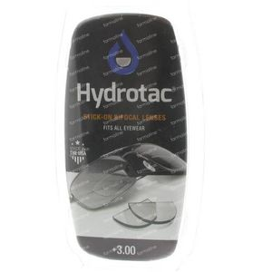 Hydrotac Stick-On Bifocal Lens +3.00 2 St