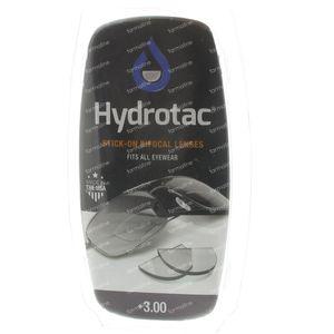Hydrotac Stick-On Bifocal Lens +3.00 2 unidades