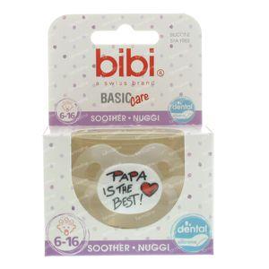 Bibi Pacifier Mom Dad 6-16M 1 item