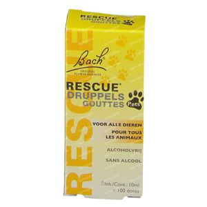 Bach Rescue Pets 10 ml drops