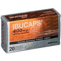 Ibucaps Apotex 400mg 20  capsules