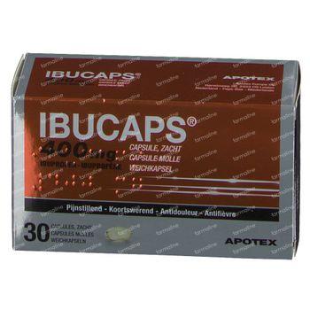 Ibucaps Apotex 400mg 30 capsules