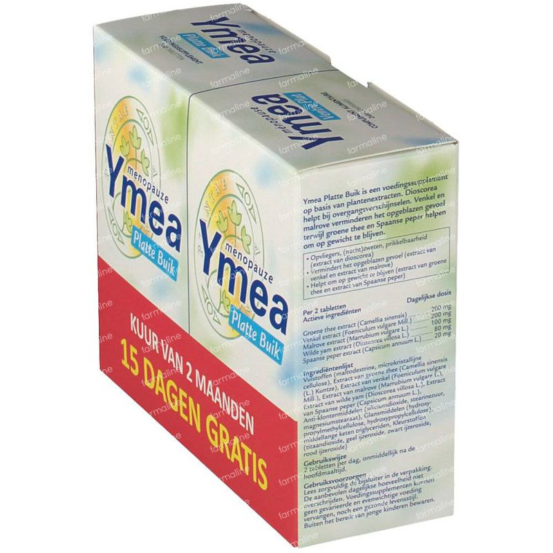 Ymea Flat Belly Duo 2x60 tablets order online.
