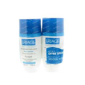 Uriage Set Deo Softness Roll-on 100 ml