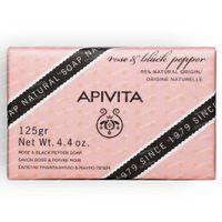 Apivita Rose & Black Pepper Soap 125 g