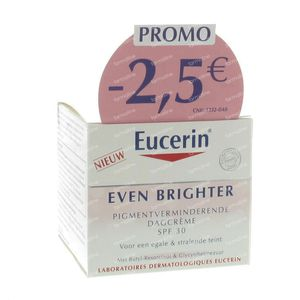 eucerin even brighter day cream spf30 reduced price 50 ml. Black Bedroom Furniture Sets. Home Design Ideas