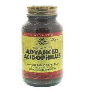 Solgar Advanced Acidophilus 100 capsule