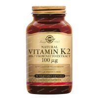 Solgar Vitamin K-2 100Mcg 50  capsules