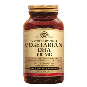 Solgar Vegetarian DHA 100Mg 30 capsules
