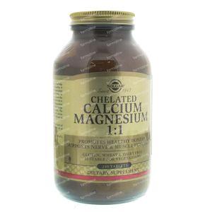 Solgar Chelated Calcium Magnesium 240  Comprimidos