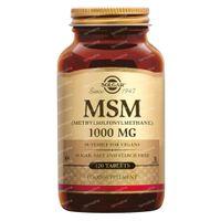 Solgar MSM Complex 1000Mg 120  tabletten