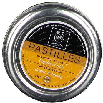 Apivita Pastilles Malle De Gorge Honey & Thyme 45 g