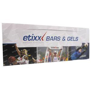 Etixx Barres + Gels 33 pièces