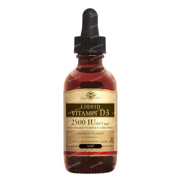 Solgar Liquid Vitamin D-3 Olie 59 ml