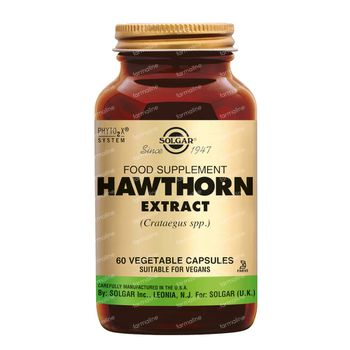 Solgar Hawthorn Extract 60 capsules
