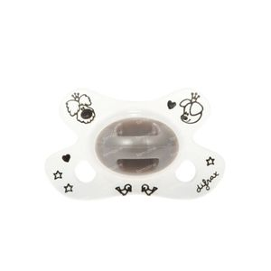 Difrax Pacifier Natural Woezel&Pip -2/+2 M 1 item