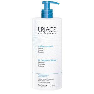 Uriage Wascrème + Pomp 500 ml