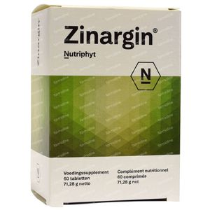 Zinargin 60 tabletten