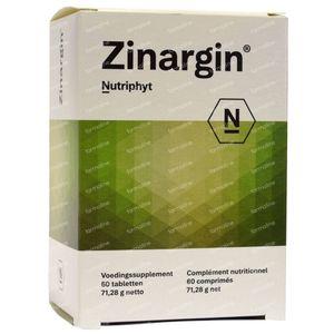 Zinargin 60 comprimidos