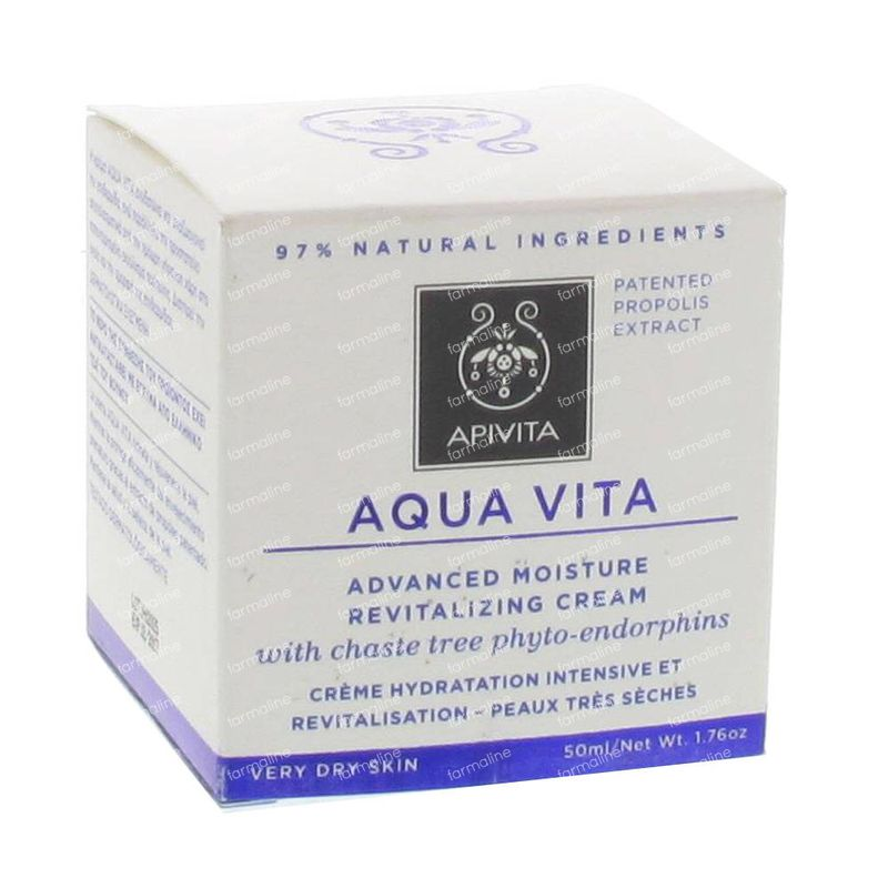 Apivita Aqua Vita Advanced Moisture Revitalizing Rich