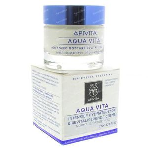 Apivita Aqua Vita Advanced Moisture Cream Normale Dry Skin 50 ml crema