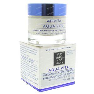 Apivita Aqua Vita Advanced Moisture Cream Normale Dry Skin 50 ml Crema
