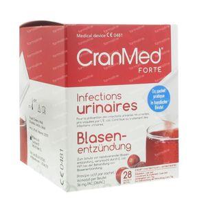 Cranmed Forte Preventie en Behandeling 28 zakjes