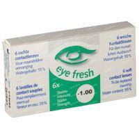 Eye Fresh Weiche Monat Kontaktlinsen 6-pack  -1,00 1 st