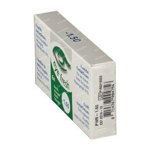 Eye Fresh Lentilles Mensuelles Souples 6-pack  -1,50 1 pièce
