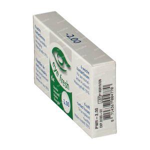 Eye Fresh Lentilles Mensuelles Souples 6-pack  -2,00 1 pièce