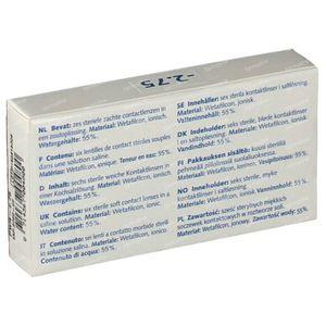 Eye Fresh Lentilles Mensuelles Souples 6-pack  -2,75 1 pièce