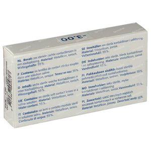 Eye Fresh Lentilles Mensuelles Souples 6-pack  -3,00 1 pièce