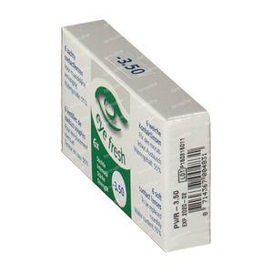 Eye Fresh Lentilles Mensuelles Souples 6-pack  -3,50 6 pièces