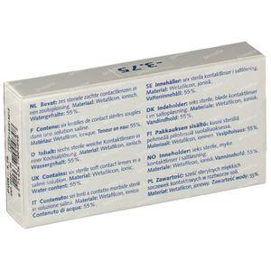 Eye Fresh Lentilles Mensuelles Souples 6-pack  -3,75 1 pièce