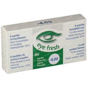 Eye Fresh Soft Month Lenses 6-pack  -4,00 1 pezzo