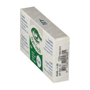 Eye Fresh Lentilles Mensuelles Souples 6-pack  -4,00 1 pièce