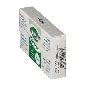 Eye Fresh Lentilles Mensuelles Souples 6-pack  -4,50 1 pièce