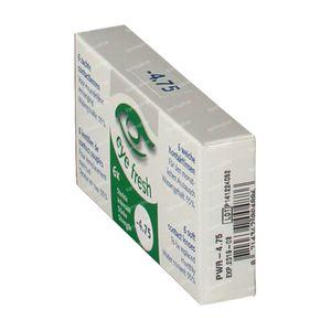 Eye Fresh Lentilles Mensuelles Souples 6-pack  -4,75 1 pièce