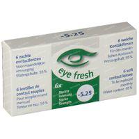 Eye Fresh Weiche Monat Kontaktlinsen 6-pack  -5.25 1 st
